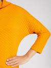 Джемпер из фактурной ткани с широким воротом oodji #SECTION_NAME# (желтый), 24808005/45964/5200N - вид 5