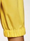 Блузка хлопковая с открытыми плечами oodji #SECTION_NAME# (желтый), 13K24002/21071N/5100N - вид 5