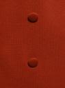 Жилет удлиненный с декоративными пуговицами oodji #SECTION_NAME# (красный), 22305001-1B/31291/3101N - вид 5