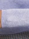 Свитер вязаный базовый oodji #SECTION_NAME# (фиолетовый), 74412005-8B/24514/8000M - вид 5