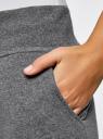 Брюки трикотажные спортивные oodji #SECTION_NAME# (серый), 16700030-5B/46173/2500M - вид 5