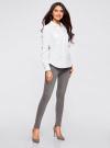 Рубашка базовая с нагрудными карманами oodji #SECTION_NAME# (белый), 11403222B/42468/1000N - вид 6