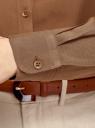 Блузка базовая из вискозы oodji для женщины (коричневый), 11411136B/26346/3701N