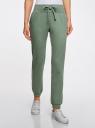 Комплект трикотажных брюк (2 пары) oodji #SECTION_NAME# (разноцветный), 16700030-15T2/46173/19VUN - вид 2