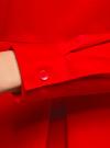 Блузка хлопковая с баской oodji #SECTION_NAME# (красный), 13K00001-1B/42083/4500N - вид 5