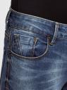 Джинсы skinny со средней посадкой oodji #SECTION_NAME# (синий), 12105113/46734/7500W - вид 4