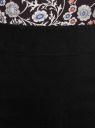 Юбка-карандаш длиной до колена  oodji #SECTION_NAME# (черный), 11610003/14007/2900N - вид 4