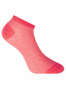 Комплект укороченных носков (3 пары) oodji для женщины (розовый), 57102604T3/48022/6
