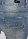Джинсы skinny с молниями на штанинах oodji #SECTION_NAME# (синий), 12106040/22306/7000W - вид 5