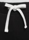 Брюки трикотажные спортивные oodji для женщины (черный), 16701010B/46980/2900N