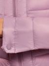 Куртка стеганая с воротником-стойкой oodji для женщины (фиолетовый), 10203038-5B/47020/8000N - вид 5
