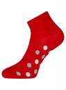 Комплект укороченных носков (6 пар) oodji для женщины (разноцветный), 57102418T6/47469/42