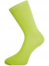Комплект высоких носков (3 пары) oodji #SECTION_NAME# (разноцветный), 57102902T3/47469/46 - вид 3