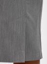 Юбка базовая прямая oodji #SECTION_NAME# (серый), 21611105-7B/48104/2310S - вид 5