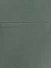 Брюки облегающие с молнией сбоку oodji #SECTION_NAME# (зеленый), 11707120/14007/6900N - вид 5