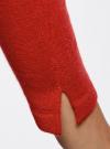 Джемпер базовый с рукавом 3/4 oodji #SECTION_NAME# (красный), 63812579B/38149/4500N - вид 5