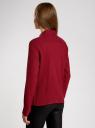 Рубашка в мелкую графику с карманами oodji #SECTION_NAME# (красный), 21441095/43671/4549G - вид 3