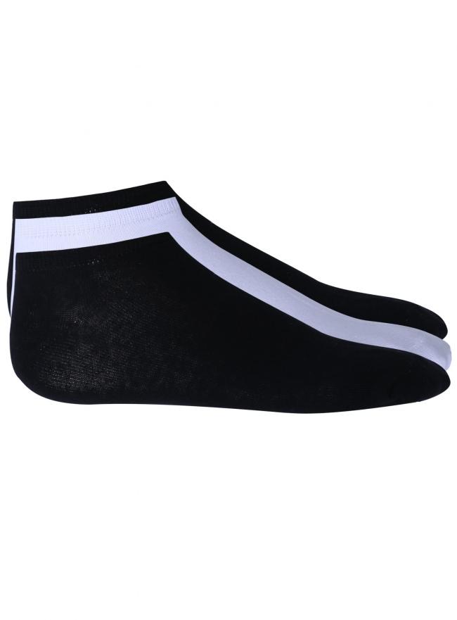 Носки короткие (комплект из 3 пар) oodji для мужчины (черный), 7O230039M/16859N/2910N
