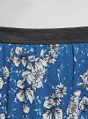 Юбка макси из струящейся ткани oodji #SECTION_NAME# (синий), 13G00002-3B/42816/7540F - вид 4