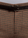 Брюки базовые с ремнем oodji для женщины (бежевый), 11701029-2B/22124/3337C