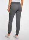 Комплект трикотажных брюк (2 пары) oodji #SECTION_NAME# (серый), 16700030-15T2/47906/2500M - вид 3