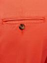 Брюки-чиносы хлопковые oodji для женщины (оранжевый), 11706204/46777/5500N