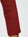Джемпер базовый с вырезом-лодочкой oodji #SECTION_NAME# (красный), 63803046-5B/48953/3100N - вид 5