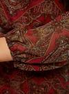 Платье из шифона с ремнем oodji для женщины (красный), 11900150-5/13632/4533E - вид 5