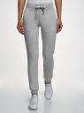 Комплект трикотажных брюк (2 пары) oodji для женщины (серый), 16700030-15T2/46173/2300M