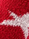 Носки махровые с принтом oodji #SECTION_NAME# (красный), 57102444/45842/4512G - вид 3