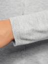 Жакет вязаный на пуговицах oodji для женщины (серый), 73212401-1B/45904/2000M
