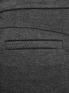 Брюки трикотажные облегающего силуэта oodji для женщины (серый), 18601009/48596/2923J - вид 5