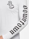 Футболка хлопковая с принтом oodji #SECTION_NAME# (белый), 5L512101I/47885N/1029P - вид 5