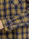 Рубашка в клетку с карманами oodji #SECTION_NAME# (зеленый), 11400433-1/43223/7952C - вид 5