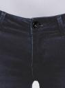 Джинсы skinny со средней посадкой oodji для женщины (синий), 12103119/43336/7900W