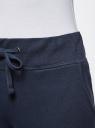 Комплект трикотажных брюк (2 пары) oodji #SECTION_NAME# (разноцветный), 16700030-15T2/47906/19NBN - вид 5