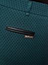 Брюки укороченные со стрелками oodji для женщины (зеленый), 21706025/46050/6979G