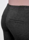 Брюки облегающие с декоративными карманами oodji #SECTION_NAME# (серый), 28600036/43127/2500M - вид 5