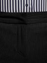 Брюки классические со стрелками oodji для женщины (черный), 21703075-9B/31270/2910S