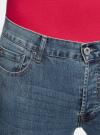 Джинсы slim базовые oodji для мужчины (синий), 6B120038M/45807/7500W - вид 4