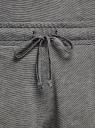 Пижама с шортами и кружевной отделкой oodji для женщины (черный), 56002204/46875/2910B