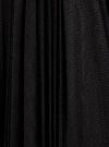 Юбка плиссе из сетки oodji #SECTION_NAME# (черный), 14100083/24205/2900N - вид 5