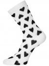Комплект высоких носков (3 пары) oodji #SECTION_NAME# (разноцветный), 57102902T3/47469/45 - вид 4