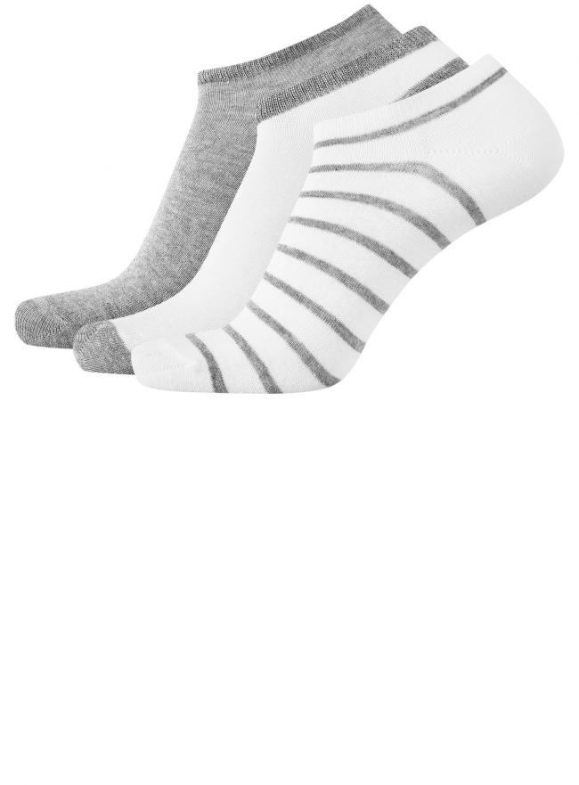 Комплект из трех пар носков oodji для мужчины (разноцветный), 7B231000T3/47469/1907O