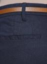 Брюки льняные со стрелками oodji для женщины (синий), 11706209B/16009/7900N