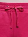 Шорты хлопковые на завязках oodji для женщины (розовый), 17001102-1/47481/4700N