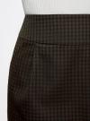 Юбка короткая с карманами oodji #SECTION_NAME# (зеленый), 11605056-3/45839/2966C - вид 4