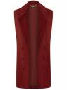 Жилет удлиненный с декоративными пуговицами oodji #SECTION_NAME# (красный), 22305001-1B/31291/4900N - вид 6